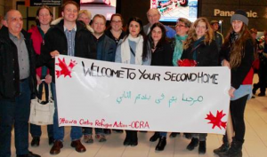 CCOC Partners with OCRA to Support Syrian Refugees