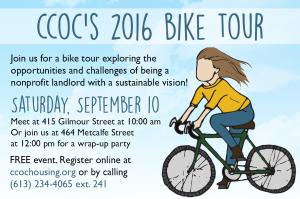 CCOC's 2016 Bike Tour