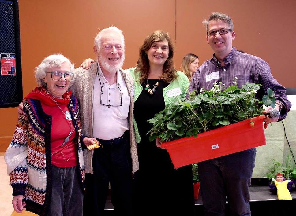 Debbie awards lifetime memberships to longtime CCOC tenants