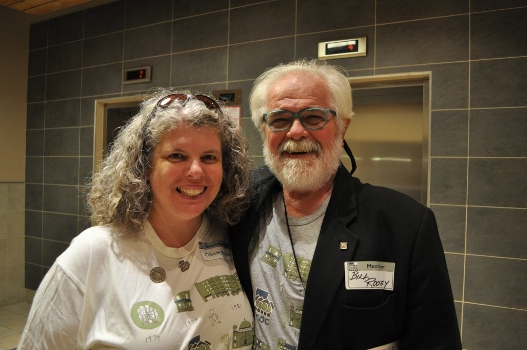 CCOC Board volunteers Calinda and Bill